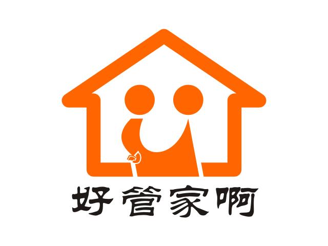 7474号-好管家家政公司企业形象logo设计-中标: zhang