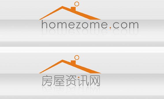 房屋资讯网logo设计_1622931_k68威客网