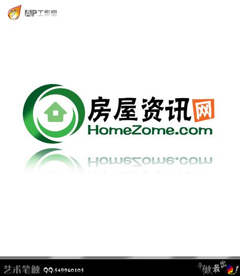 资讯logo_房屋资讯网logo设计