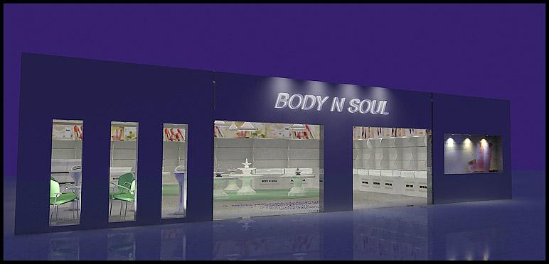 商场店面装修门面及内部效果图[9