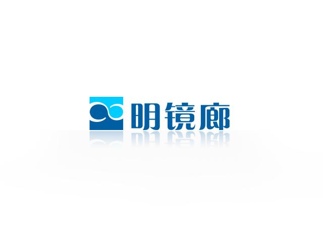 明镜廊眼镜公司logo设计方案