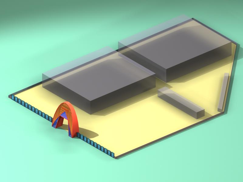 大门效果图 大门设计图征求 工厂大门效果图 1000元 K68威客任务