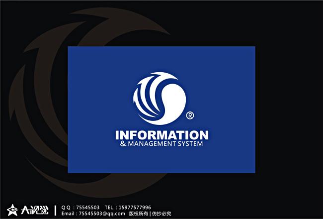 科技网站logo设计