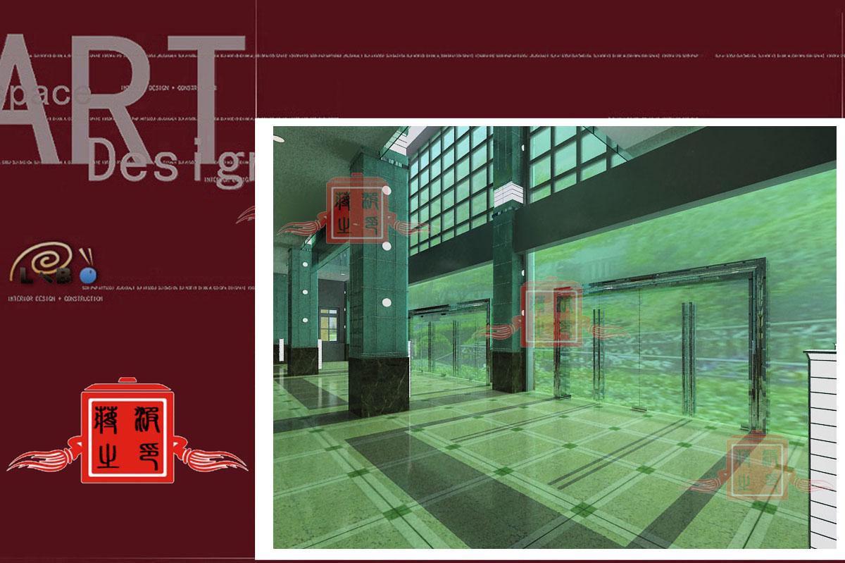 一、门厅装修(二层):正面装12.5平方米(4.5米×2.5米)的全色带脑子显示屏一面并配微机一台,两侧装古铜色马锡五办案浮雕、抽象华天平、剑图案浮雕;四个柱子90公分以下装花岗岩,90公分以上装白烤漆玻璃;铝塑板墙面、踢角线;铝塑板吊顶、门庭配置灯光5万元以内。装修费用控制在54万元之内。 二、大审判庭:东墙装13.