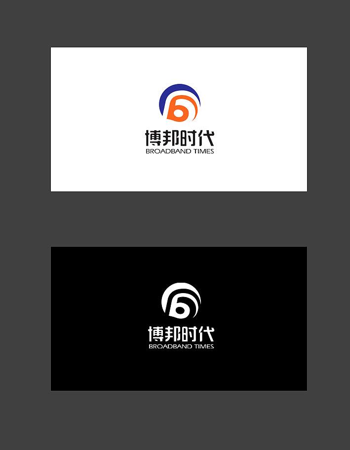 博邦时代公司logo名片信封设计_1728797_k68威客网