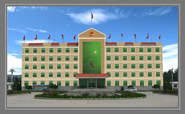 三层办公楼女儿墙办公楼外墙装饰办公楼外墙颜色