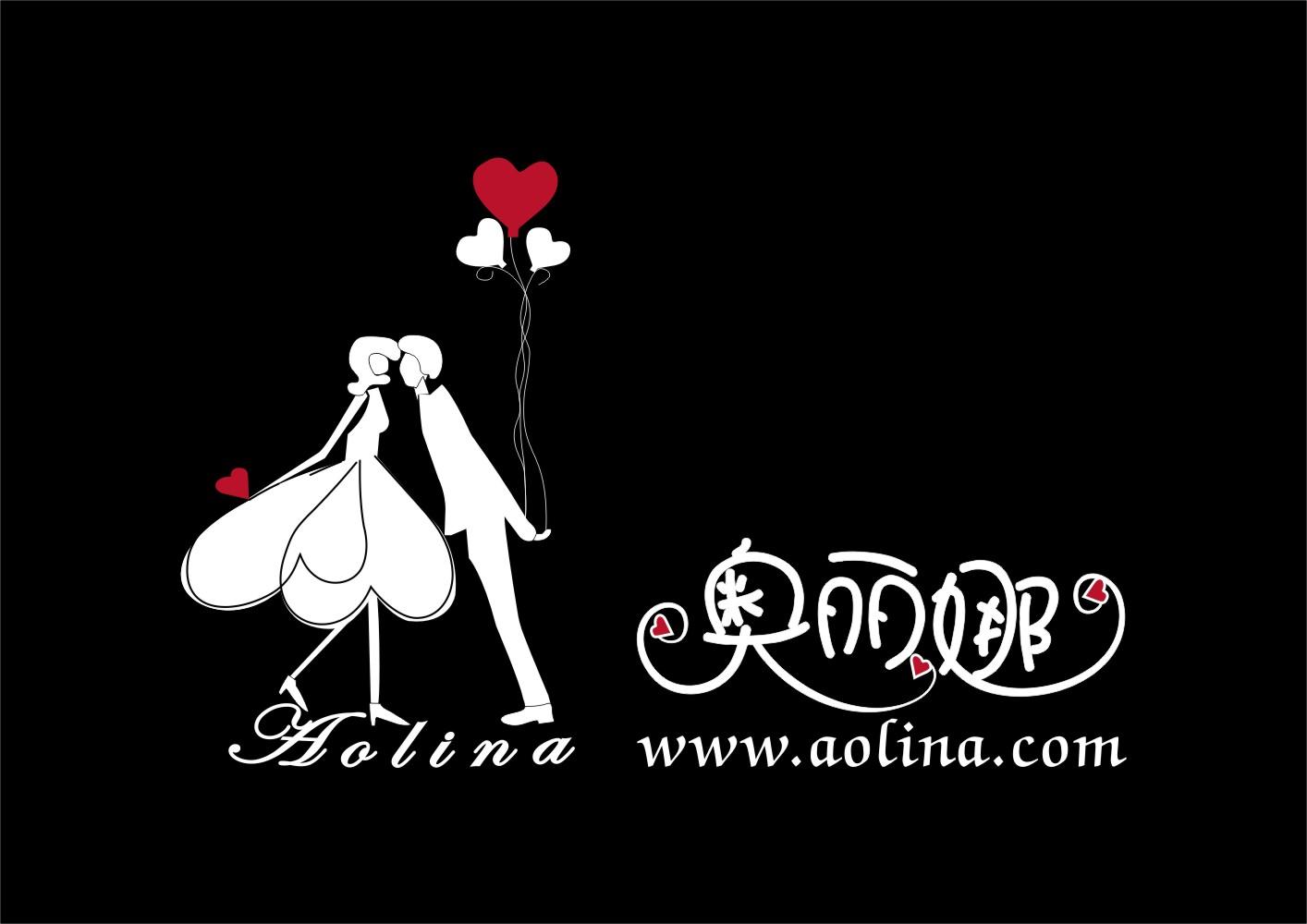 婚纱logo简笔画