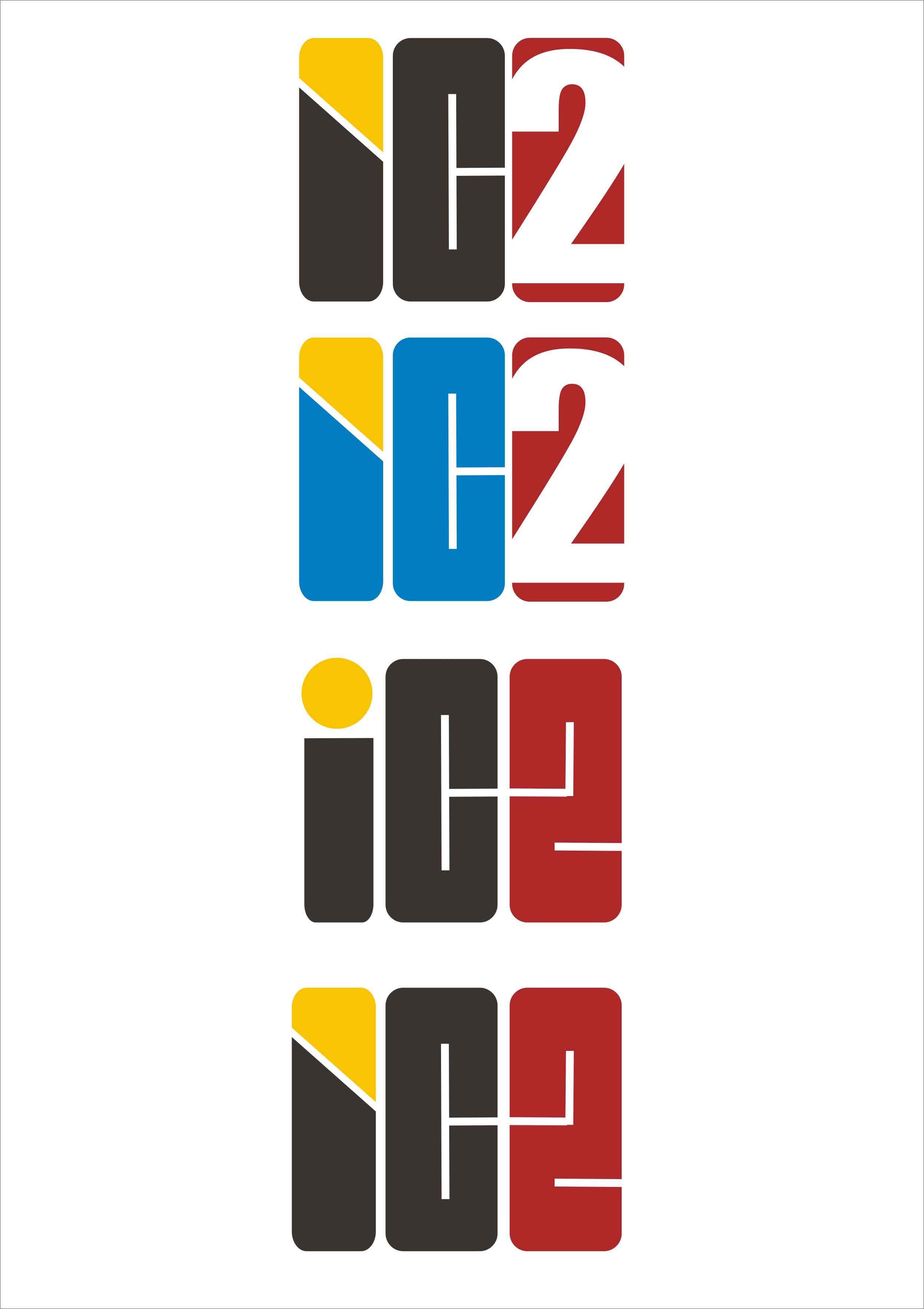 """""""ic2""""标识和网站logo设计"""