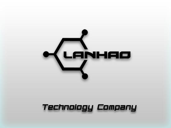 兰灏科技公司logo,名片设计[lanhao]