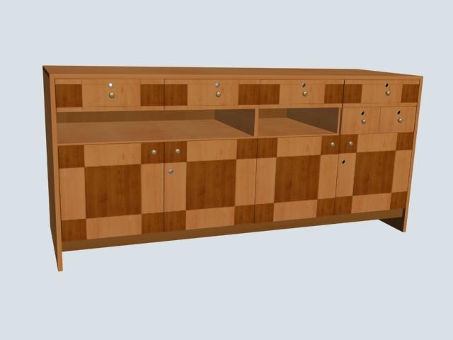 整体橱柜设计(cad、3D)[中标:sssssddddd,于万2007cad不上选图片