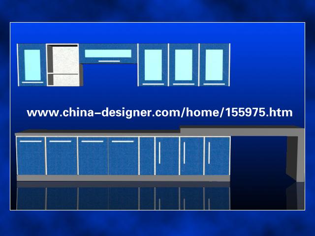 整体橱柜设计(cad、3D)[中标:sssssddddd,于万cad空标志什么是图片