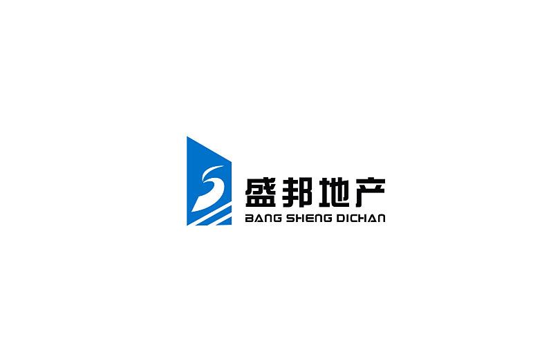 曲靖 盛邦地产 logo|简单vi设计