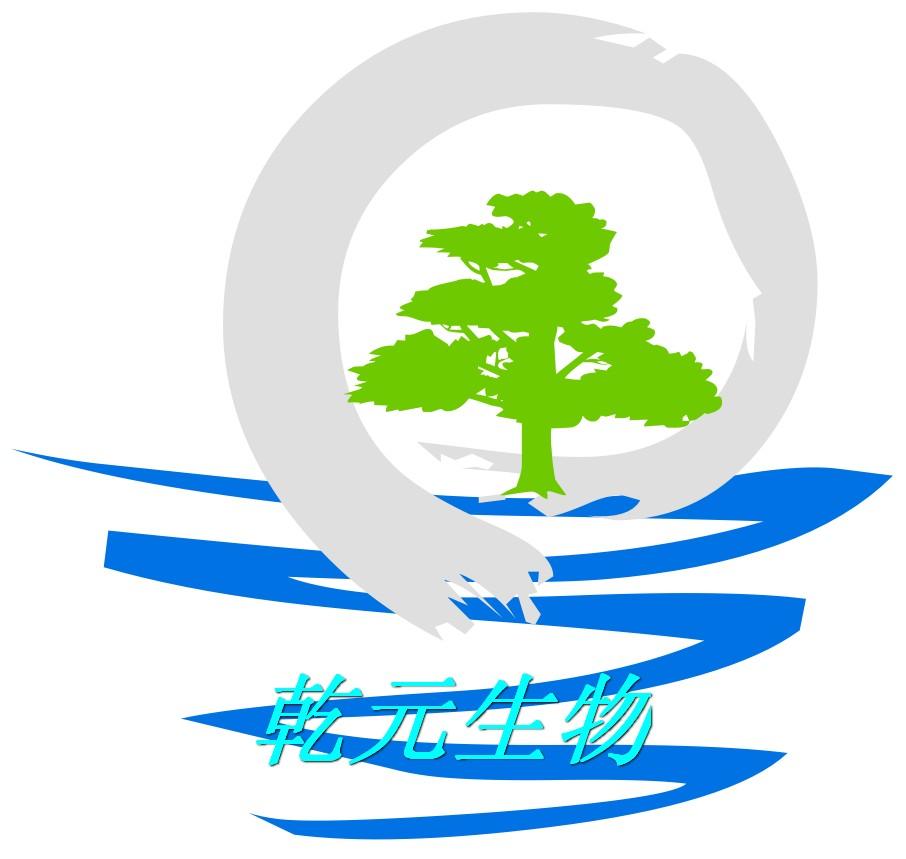 乾元生物科技公司logo设计