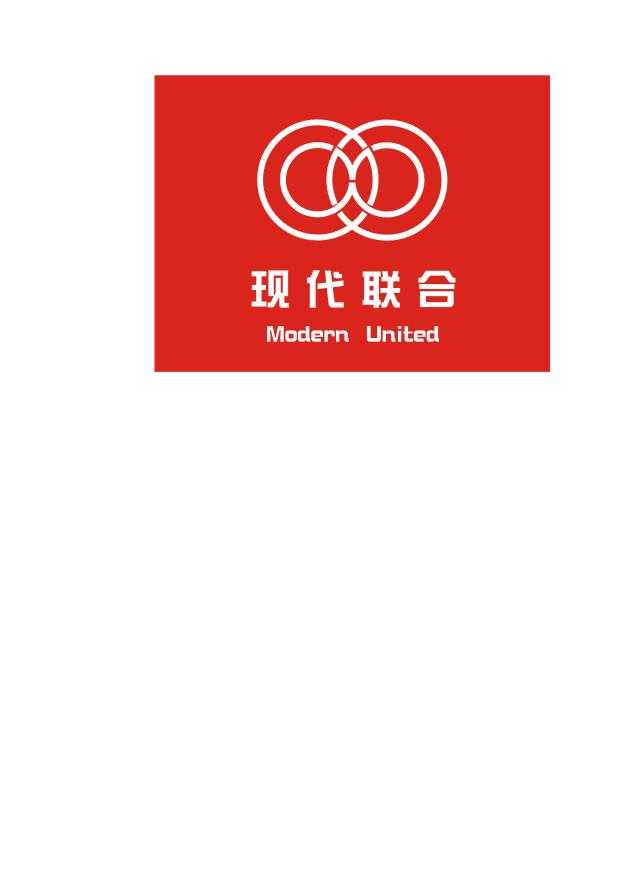 现代联合市场管理集团logo设计