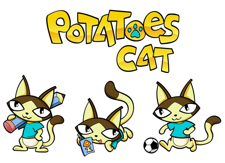 土豆猫卡通设计_1120元图片
