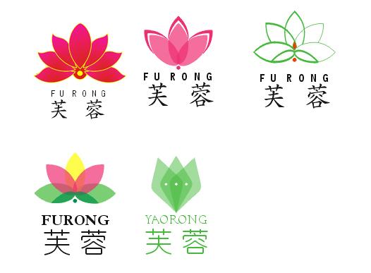 芙蓉连锁超市logo设计
