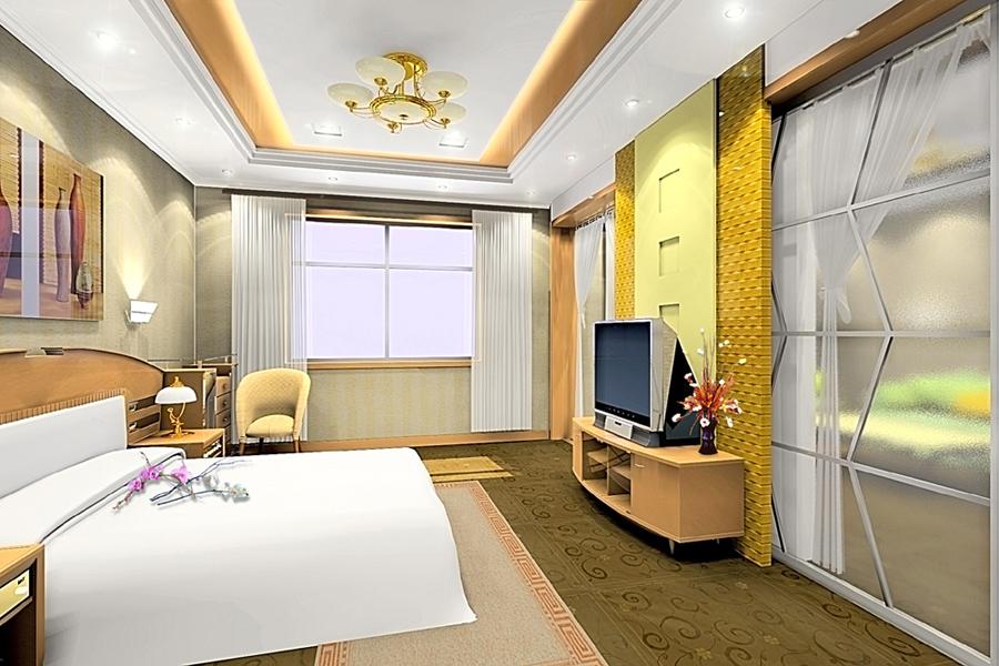 宾馆客房装修效果图[更新]- 稿件[#1893214]