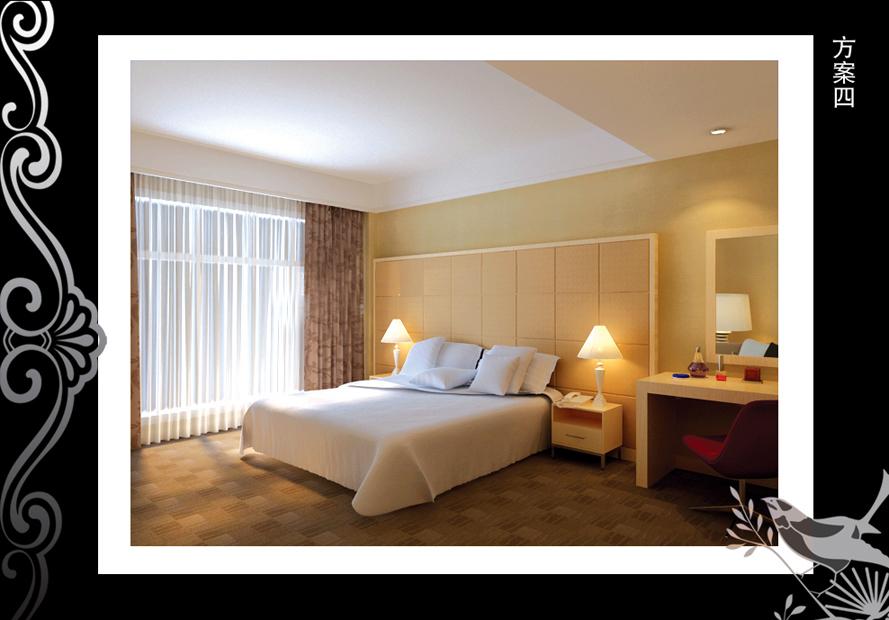 宾馆客房装修效果图[更新]-1000元-10283号任务-威客