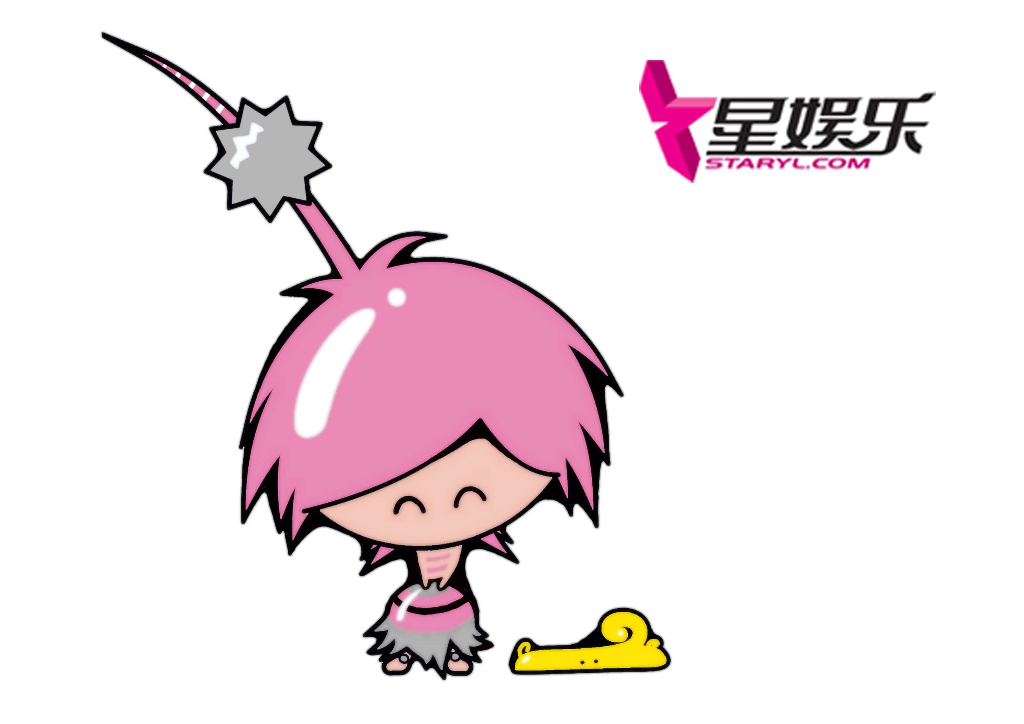 现金星娱乐网站卡通形象设计