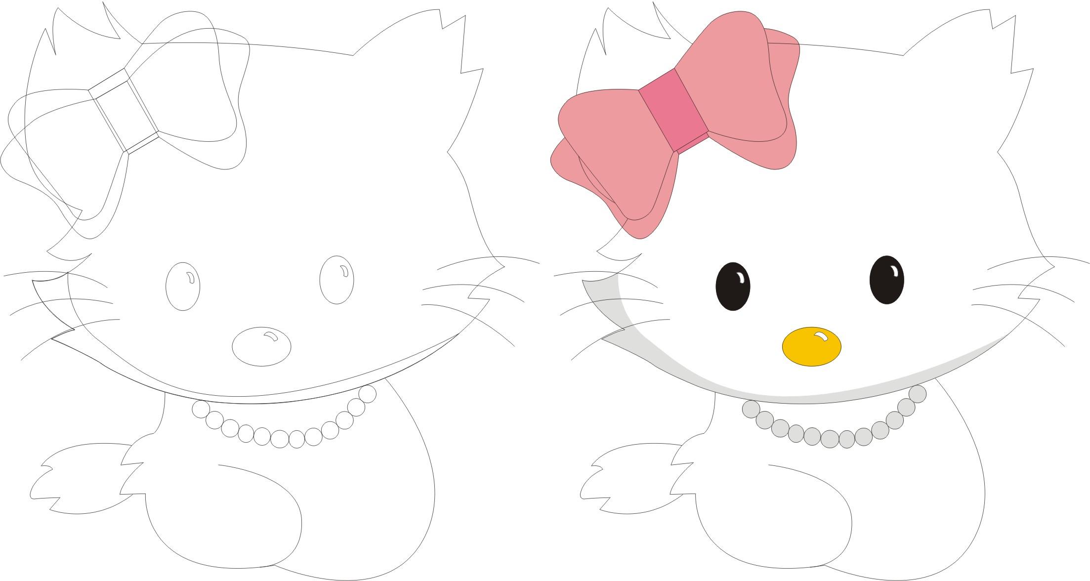 征求一个卡通猫的形象